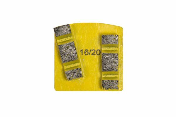1620 yellow double